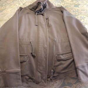 Gap sweatshirt coat